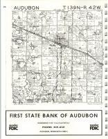 Audobon T139N-R42W, Becker County 1975